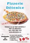 Pizzerie Dětenice - poukázka na jednorázovou slevu (leták)