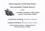 Povídání o postních a velikonočních zvycích v české lidové kultuře (leták)