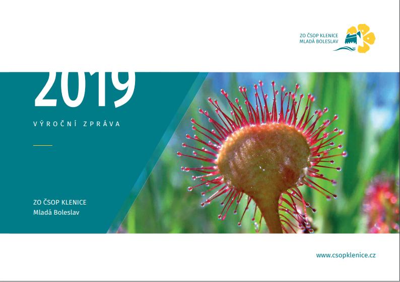 Výroční zpráva ČSOP Klenice za 2019